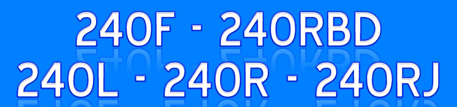 40 45 240R 245R