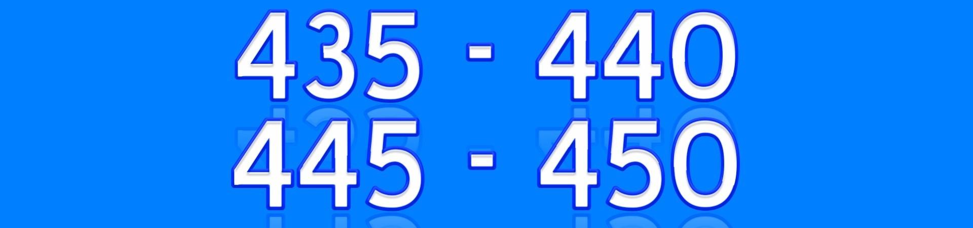 435 440 445 450