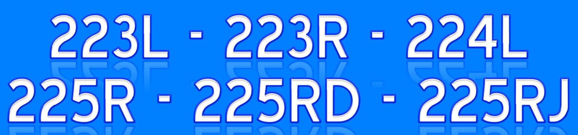 225R 227R 232R 235R