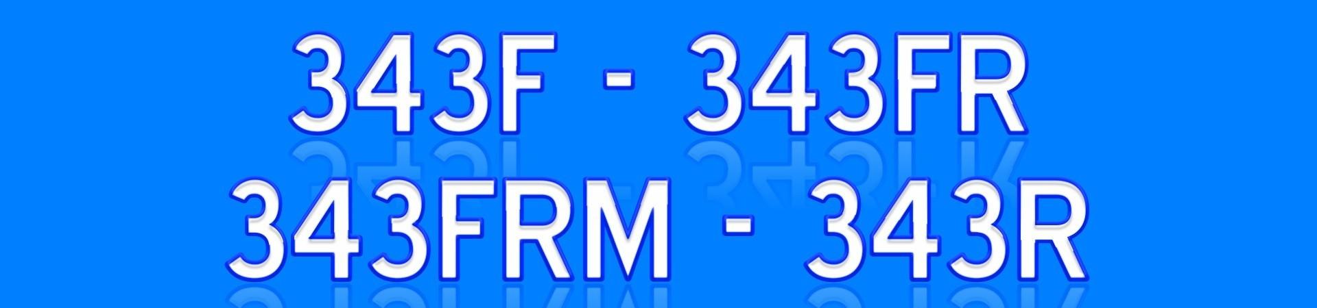 343R 345R