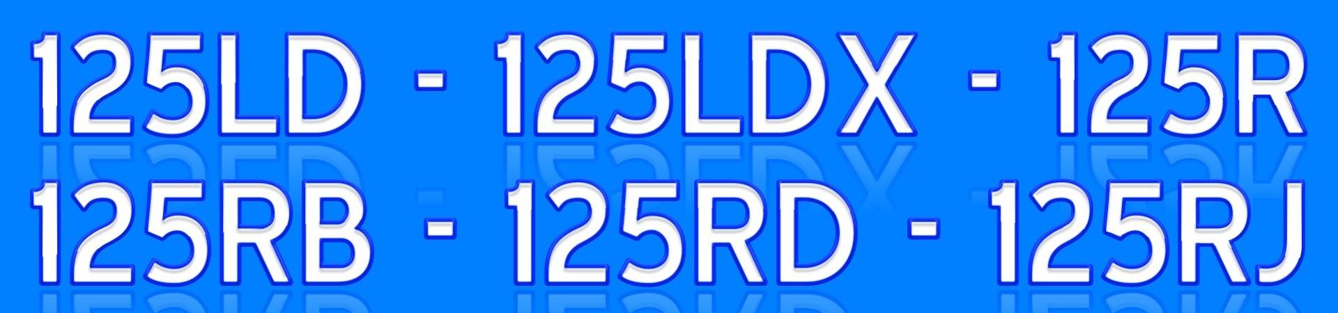 124R 125R 128R 132R
