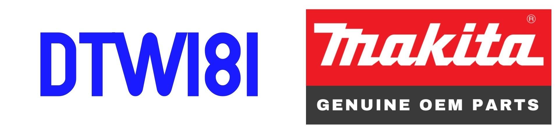 RECAMBIOS para Llave de Impacto Makita DTW181 al Mejor PRECIO