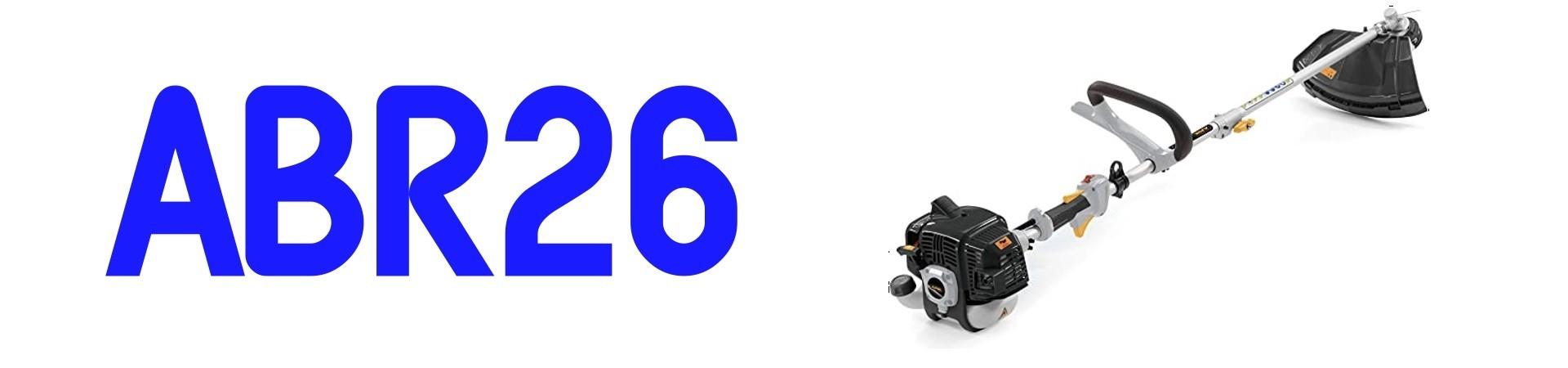 RECAMBIOS Desbrozadora Alpina ABR26 al Mejor PRECIO
