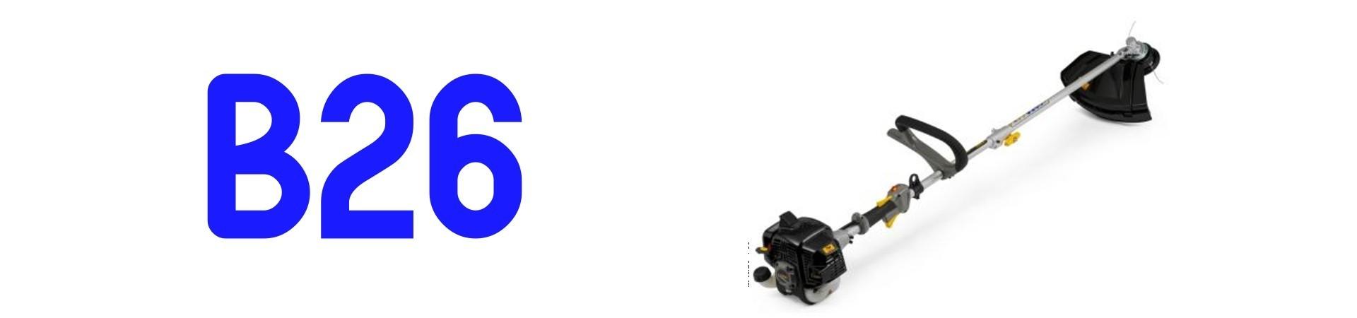 RECAMBIOS Desbrozadora Alpina B26 al Mejor PRECIO