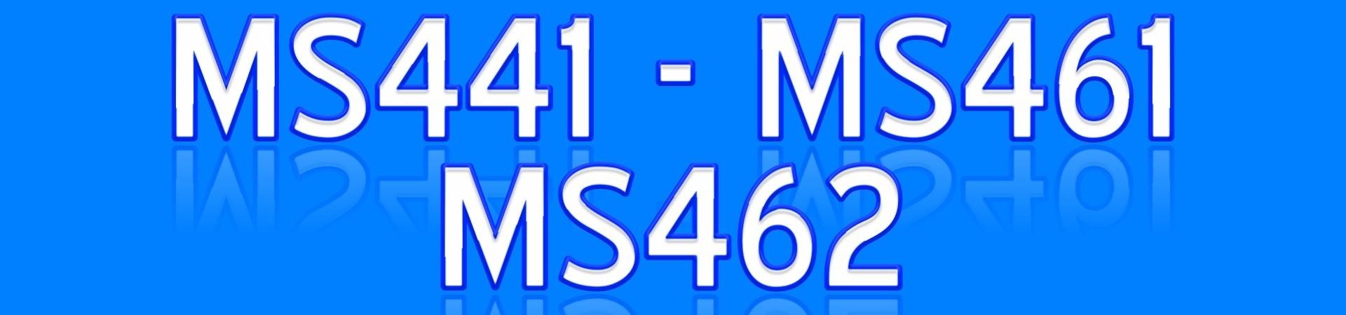 MS441 MS461 MS462